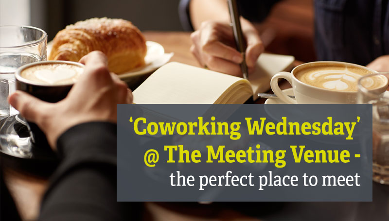 Coworking Wednesday @ The Meeting Venue - the perfect place to meet