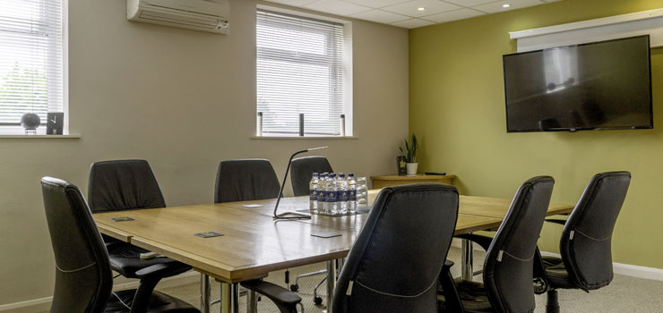 Meeting rooms suitable for 2-8 people